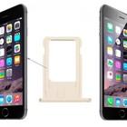 A-pple iPhone 6 Sim Tray Goud