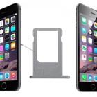 A-pple iPhone 6 Sim Tray Grijs