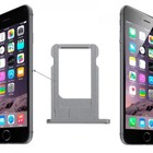 A-pple iPhone SE Sim Tray Grijs