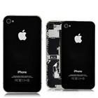 A-pple iPhone 4S Accu Cover Zwart