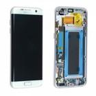 Samsung Galaxy S7 Edge Scherm Origineel Silver