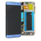 Samsung Galaxy S7 Edge Scherm Origineel Blauw