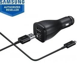 Samsung Samsung autolader USB-C+ datakabel - zwart - duo - snel laden