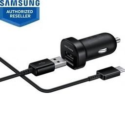 Samsung Samsung autolader mini USB-C + datakabel - zwart