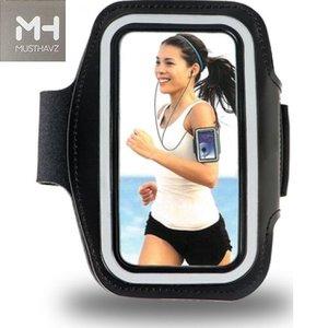 Musthavz sport armband - zwart