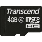 Transcend 4 GB micro SDHC card class 4 met adapter