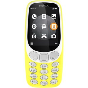 Nokia 3310 - 3G - geel