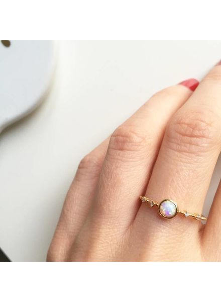 Fashion-Click Ring Havana