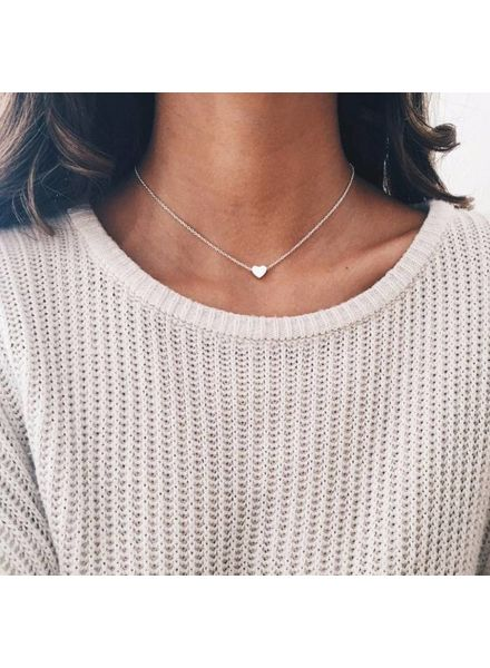 Fashion-Click Choker  Hartje