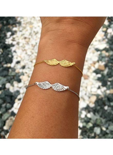 Fashion-Click Armband  Angel Wings