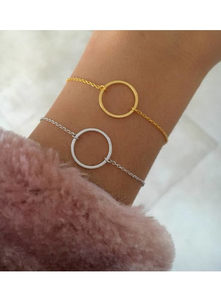 Fashion-Click Armband Open Circle