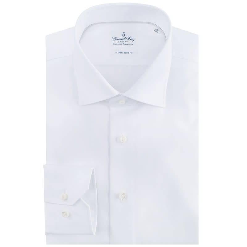 Emanuel Berg Wit hemd Emanuel Berg
