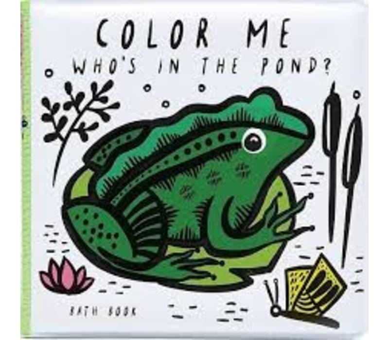 Bath Book Colour me Pond
