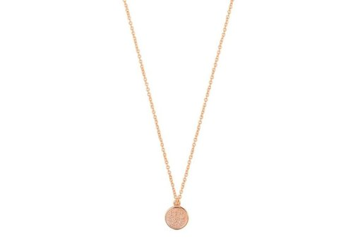 COIN NECKLACE ROSE