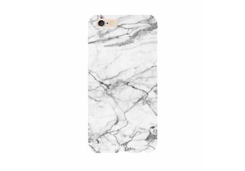 MIM Amsterdam IPHONE HARDCOVER WHITE MARBLE