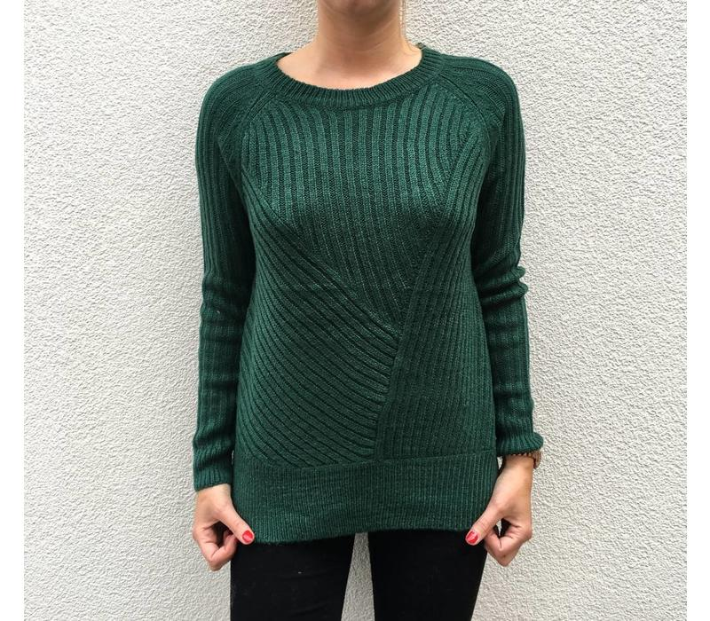 GREEN ODELL KNIT