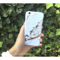 GOLDEN MARBLE HARDCOVER IPHONE 6 / 6S