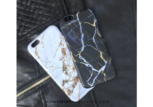 WHITE GOLDEN MARBLE IPHONE COVER  7