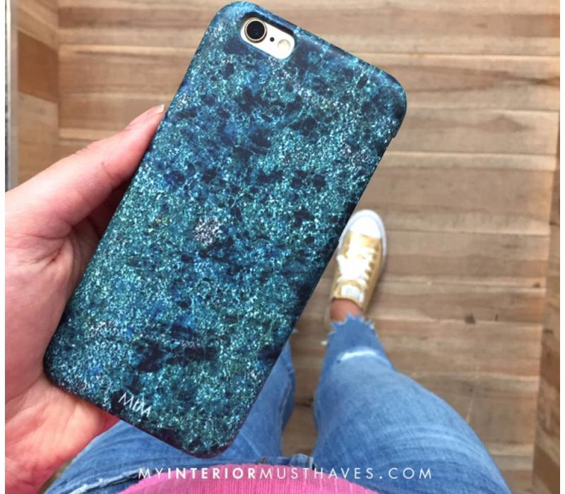 GREEN SPARKLES IPHONE COVER 6 / 6S