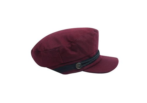 SAILOR HAT - BURGUNDY