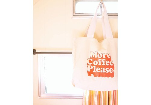 MORE COFFEE TOTEBAG
