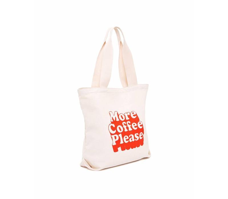 MORE COFFEE TOTEBAG