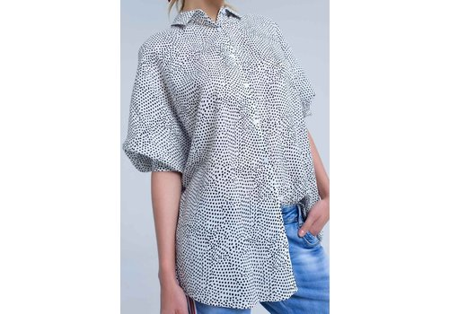 artlove SPOTTED BLOUSE