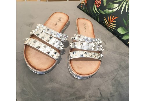 STUDDED SLIPPERS