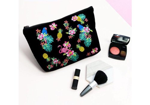 BLACK JUNGLE MAKE UP BAG