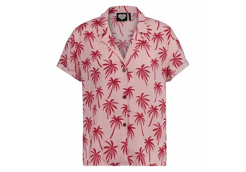 CATWALK JUNKIE ABOUT THE PALM TREES BLOUSE
