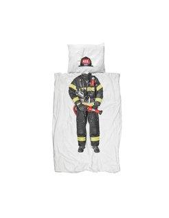 Firefighter Dekbedovertrek wit
