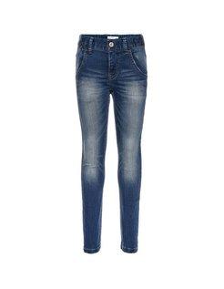 Nittasmania Slim Fit Jeans dark blue