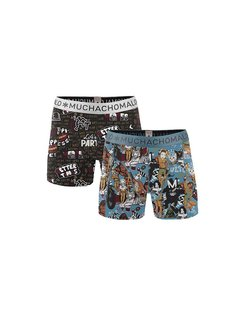 Boys 2-pack Short print muchax