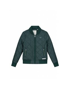 Elias Bomber Jacket dark green