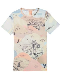 All-over Printed Tee desert