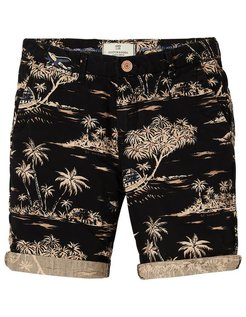 All-over Printed Rocker Chino Short black
