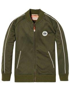 Tracket Jacket green