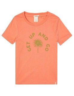 Bright T-shirt orange