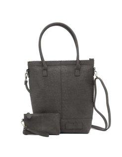 Bag kartel XL met rits Zwart