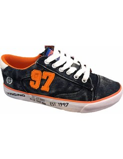 Dave Low 97 Navy Orange