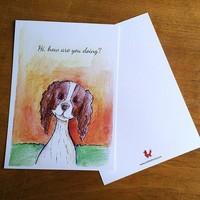 Postcard Hondje