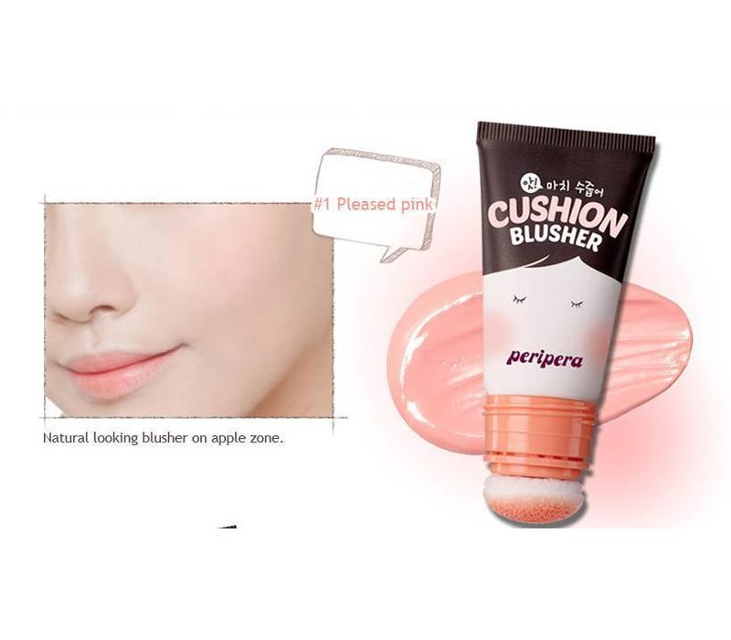Ah! Much Real My Cushion Blusher [#001 Pleased Pink]