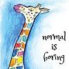 By STEL.EL Postcard Giraffe