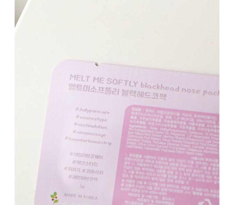 Melt Me Softly Blackhead Nose Pack - 5g
