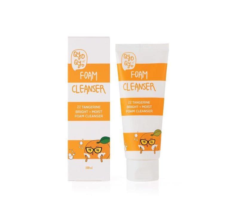 Tangerine Bright + Moist Foam Cleanser - 100ml