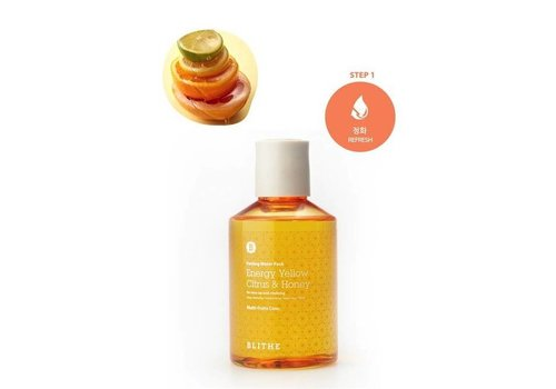Blithe Patting Water Pack [Yellow Line: Citrus & Honey]
