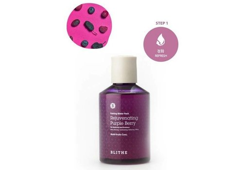 Blithe Patting Water Pack [Purple Line: Rejuvenating Purple Berry]