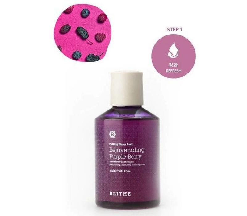 Patting Water Pack [Purple Line: Rejuvenating Purple Berry] - 200 ml