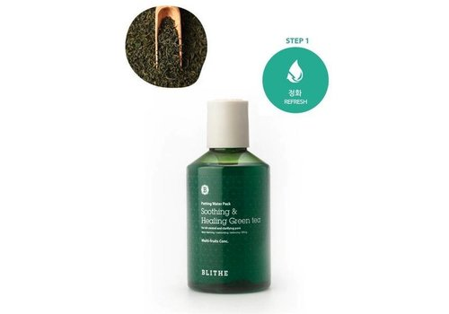 Blithe Patting Water Pack [Green Line: Soothing & Healing Green Tea]