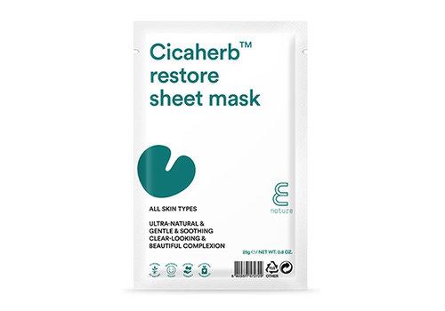 Enature Cicaherb Restore Sheet Mask Pack (10ea)